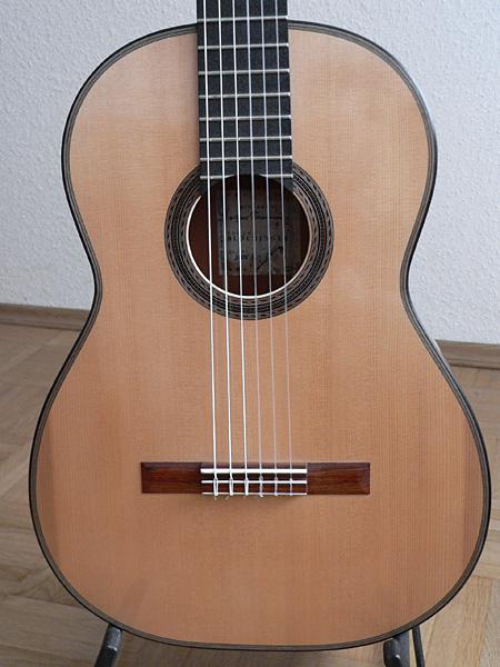 Gitarre Decke